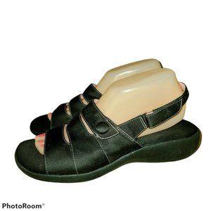 Grasshopper Lillie Purefit Comfort Black Slingback